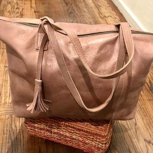 Liebeskind Doba Leather Satchel/Crossbody Bag